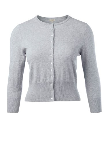 Fitted Cropped Cardi