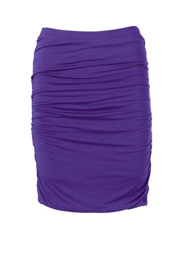 Short Ruched Skirt