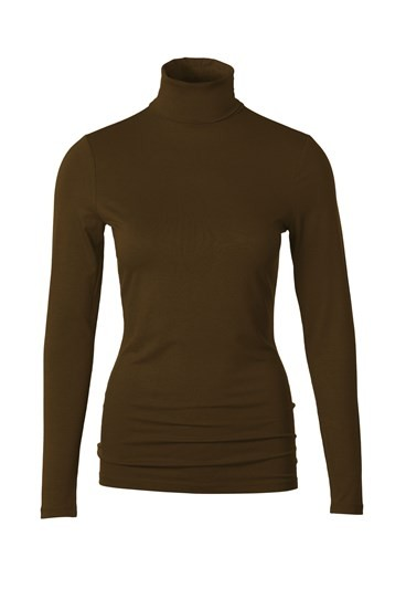 Silky Roll Neck