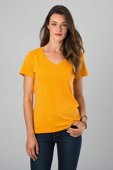 Fine Cotton V Neck