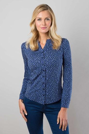 Mandarin Jersey Shirt