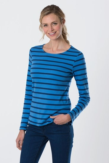 Cosy Cotton Stripe top