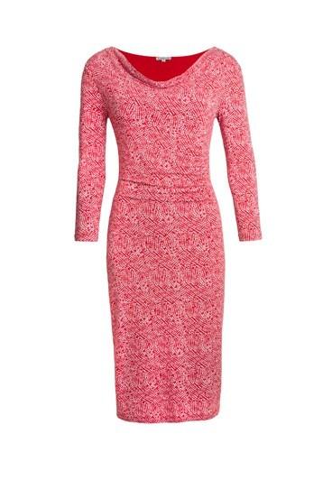 Mosaic Cowl Dress