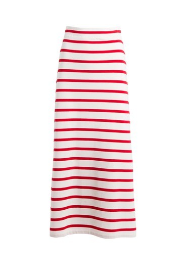 Stripe Weekend Skirt