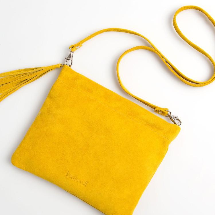 shop suede shoulder bag