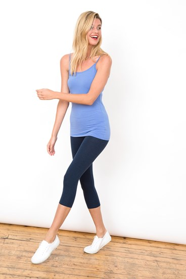 Marl Cropped Leggings