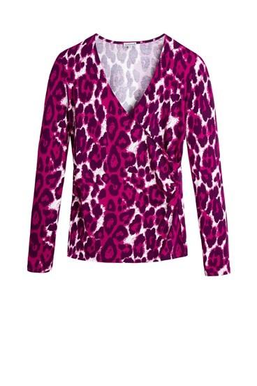 Leopard Faux Wrap