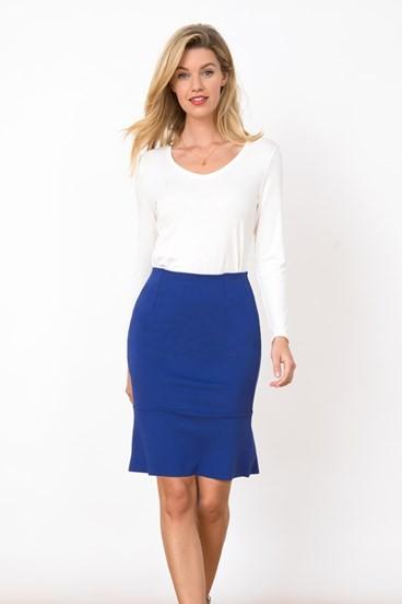 Ponte Kick Skirt