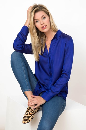 Susie Silk Shirt