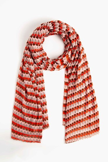 Tulip Knit Scarf
