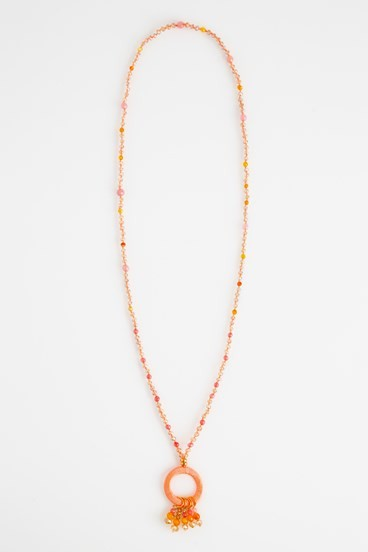Crystal Hoopla Necklace