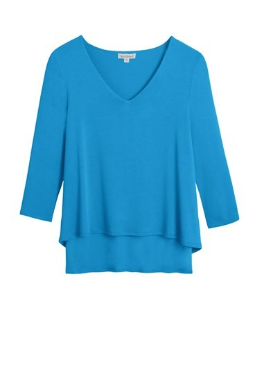 Lulu Layered Top 3/4 Sleeve