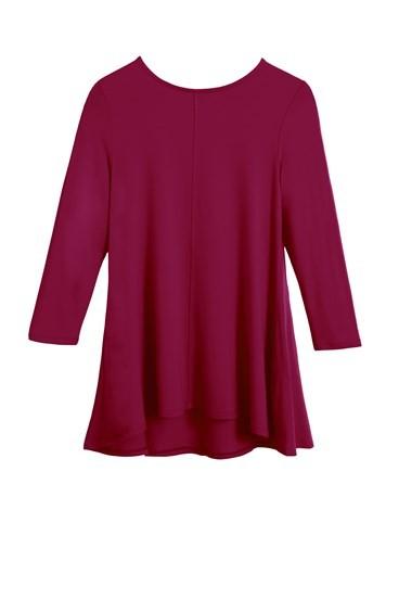 Diane Swing Top 3/4 Sleeve