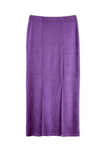 Zandra Velvet Skirt