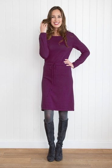 Knitted Cotton Dress