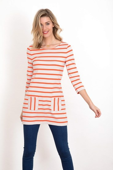 Stripe Pocket Tunic