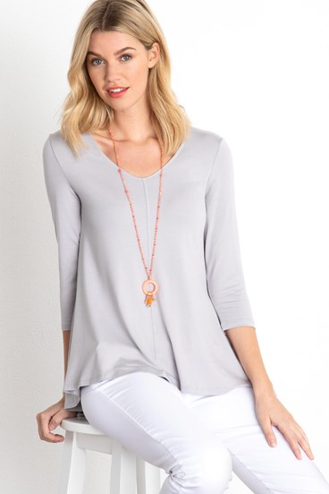 Swing V Neck Top