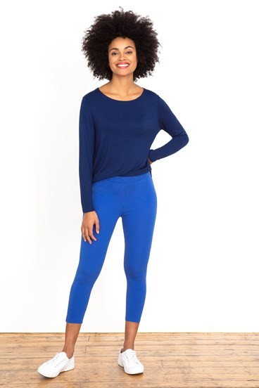 Cotton Cropped Leggings