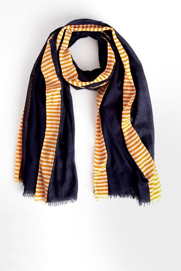 Stripe Edge Scarf