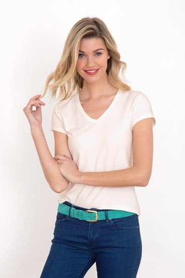 c5de16b9e90e2 Cotton V-Neck