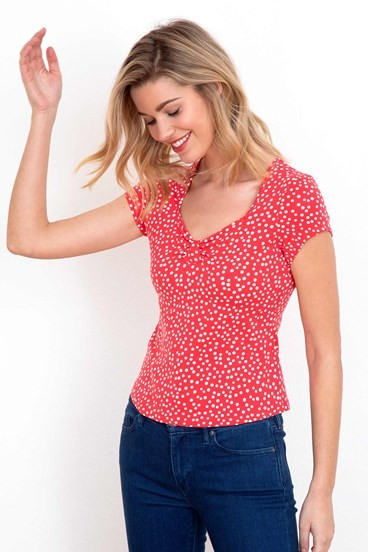 Sweetheart Spot Top