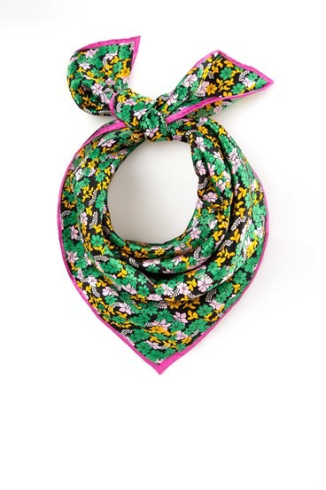 Eleanor Silk Scarf