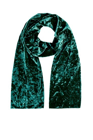 Crushed Velvet Scarf