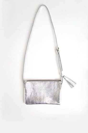 Metallic Tassel Bag