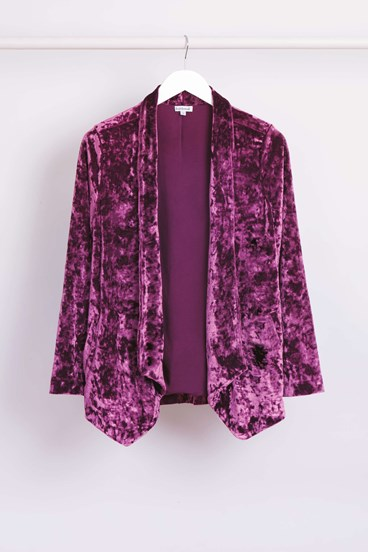 Crushed Velvet Jacket