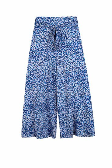 Leopard Jersey Culottes