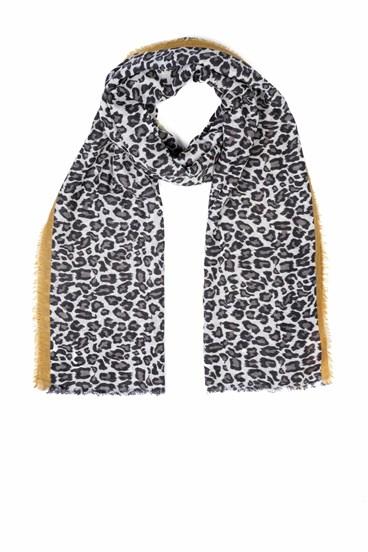 Eva Leopard Scarf