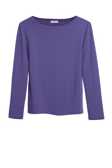 Slash Neck Long Sleeve