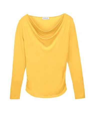Long Sleeve Cowl Neck