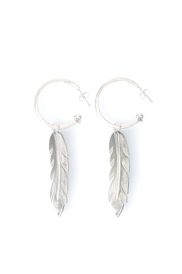 Free Spirit Earrings Silver
