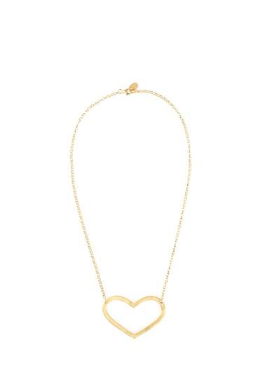 Mega Love Necklace Gold