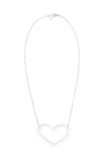 Mega Love Necklace Silver