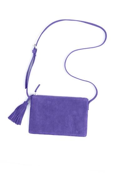Suede Tassel Bag