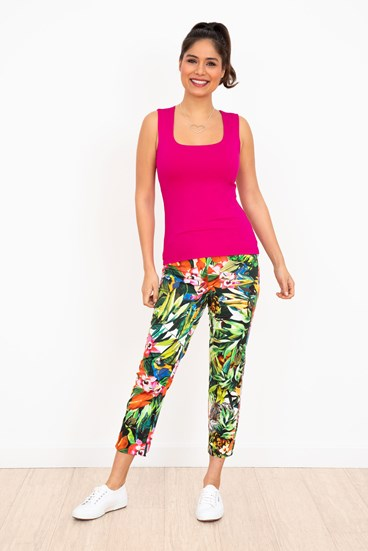 Print Rosa Trousers