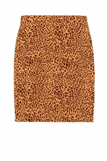 Short Jacquard Skirt