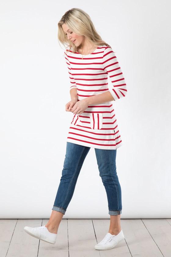 Stripe Pocket Tunic