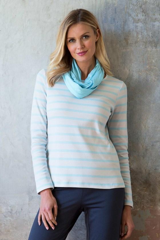 Cosy Cotton Stripe top