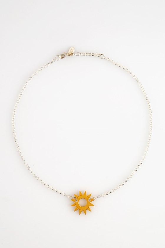 Sunrise Necklace Gold