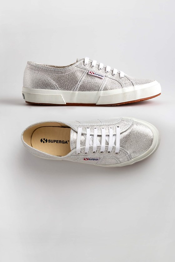 Superga Metallic Trainers