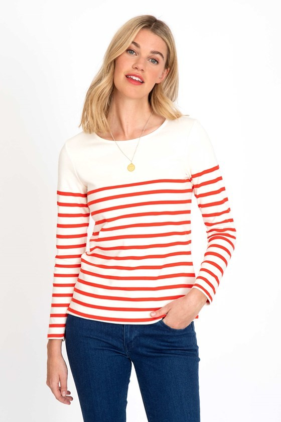 Monaco Stripe Top