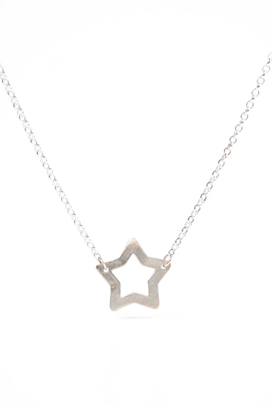 Superstar Necklace Silver