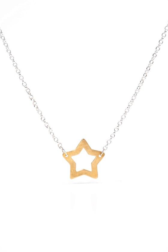 Superstar Necklace Gold
