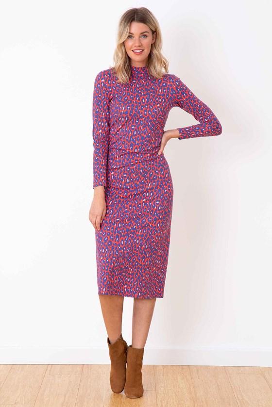 Lucy Leopard Dress