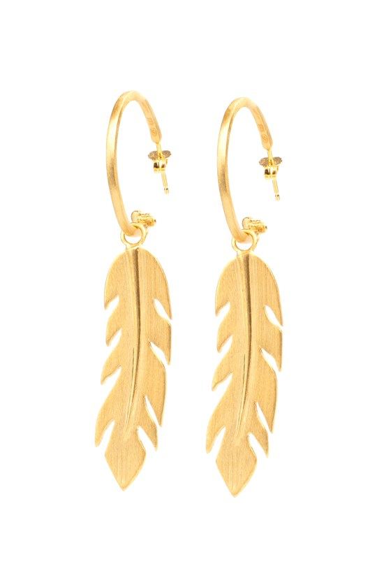 Free Spirit Earrings Gold