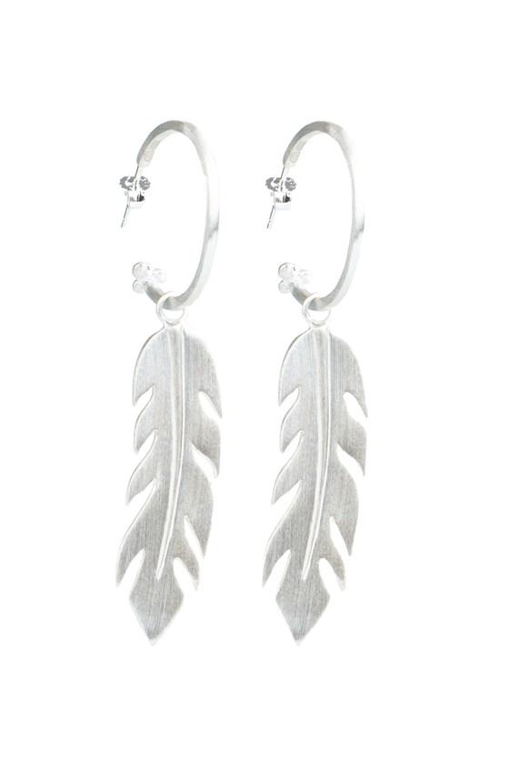 Free Spirit Earrings Silver