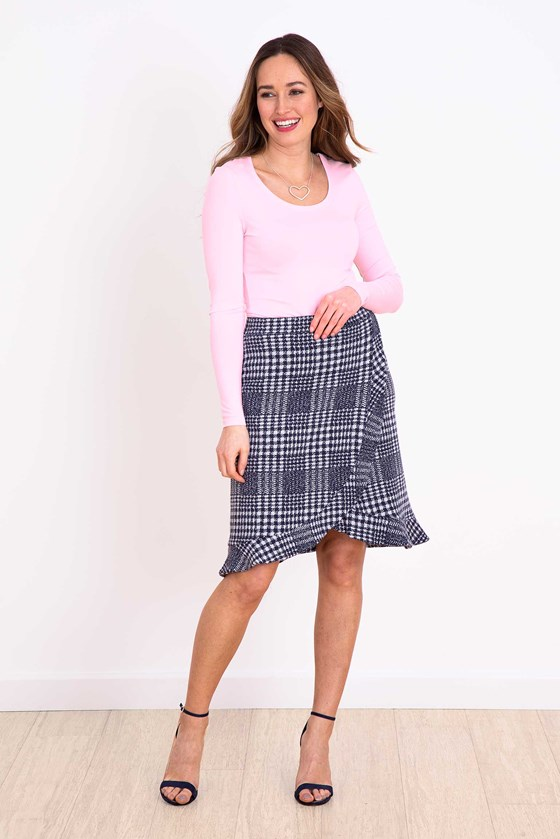 Millie Check Skirt